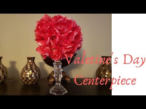 Dollar Tree DIY - Valentine's Centerpiece