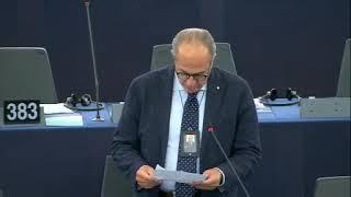 Intervento in aula di Paolo De Castro sul progetto di bilancio 2020