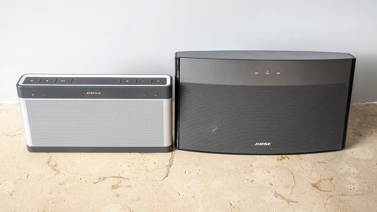 Bose Soundlink III vs Soundlink Wireless Music System audiotest ...