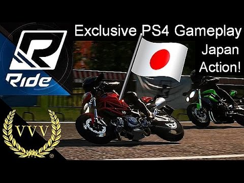 Ride Exclusive PS4 Gameplay - Japan Kanto Hills Circuit