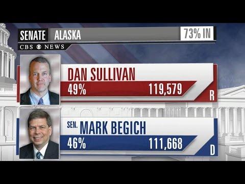 Alaska Republican declares victory in Senate race