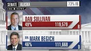 Alaska Republican declares victory in Senate race