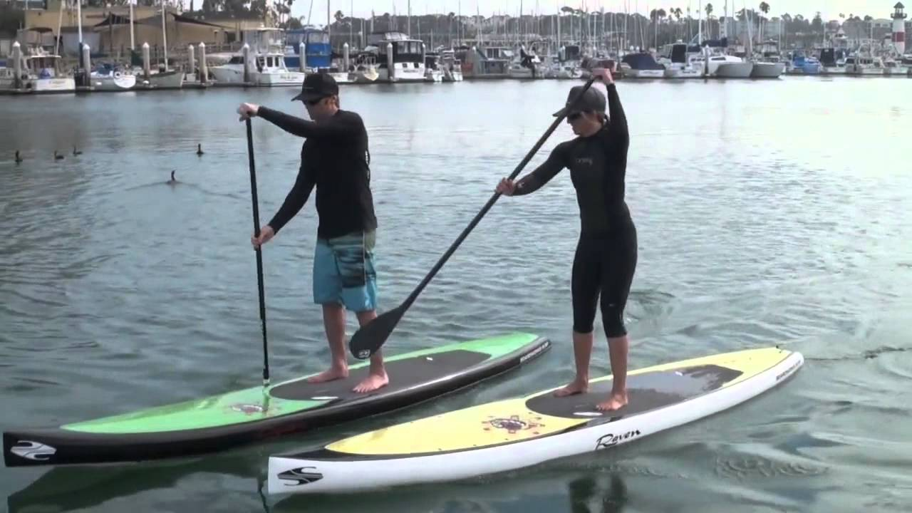 Boardworks Raven 12 6 Touring Stand Up Paddle Board Youtube