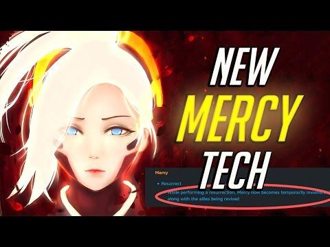 New Mercy Tech - Overwatch