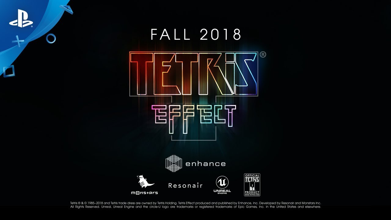 GB Tetris Effect - E3 2018 Announce Trailer | PS4