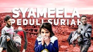 Syameela Peduli Suriah - 06. Membagikan Bantuan Kepada Para Janda & Anak Yatim