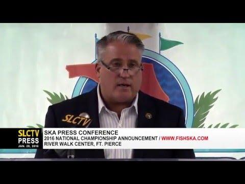 2016 SKA National Championship Tournament Announcement Presser