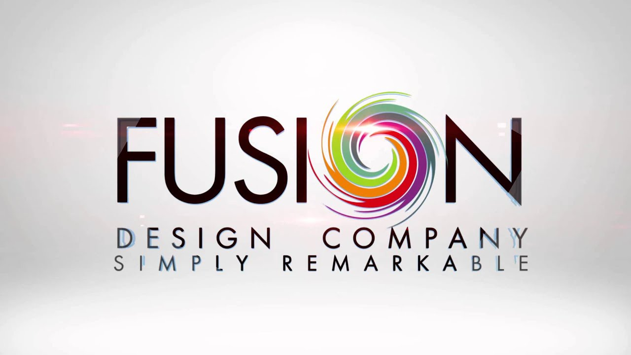 fusion logo animation 1 youtube