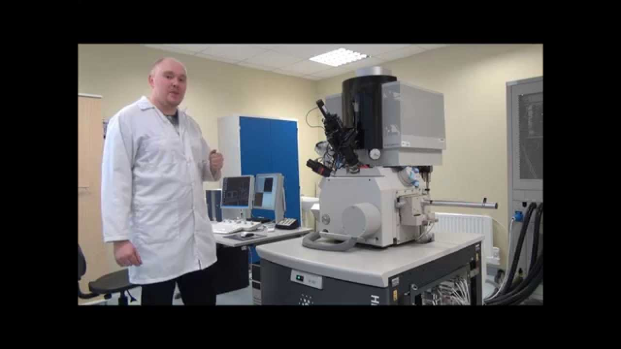 Scanning Electron Microscopy (SEM) Lecture with Animations and Real Measurement