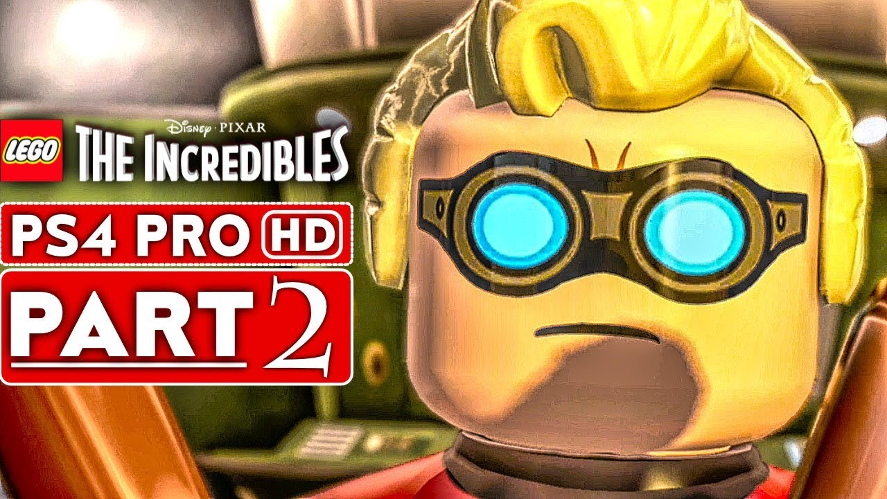 LEGO THE INCREDIBLES Gameplay Walkthrough Part 2 [1080p HD PS4 PRO] - No Commentary