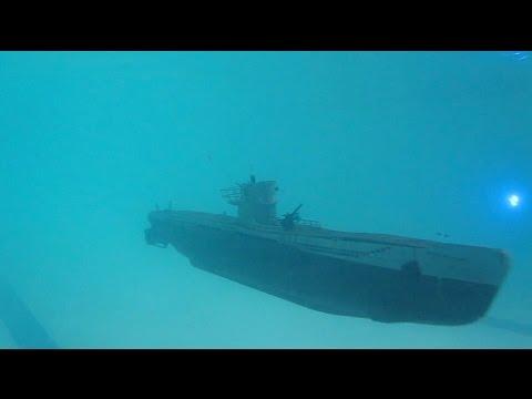 U47 pool patrol RC static dive submarine