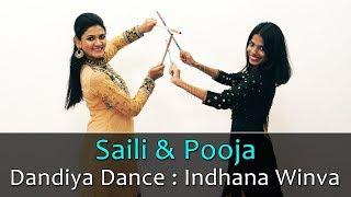 Dandiya Dance Performance on Hindi Songs | Indhana Winva Dance Choreography | Navratri Dance Video
