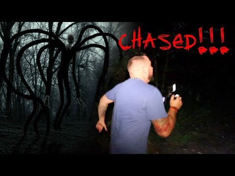WE WERE CHASED IN THE SLENDER MAN FOREST