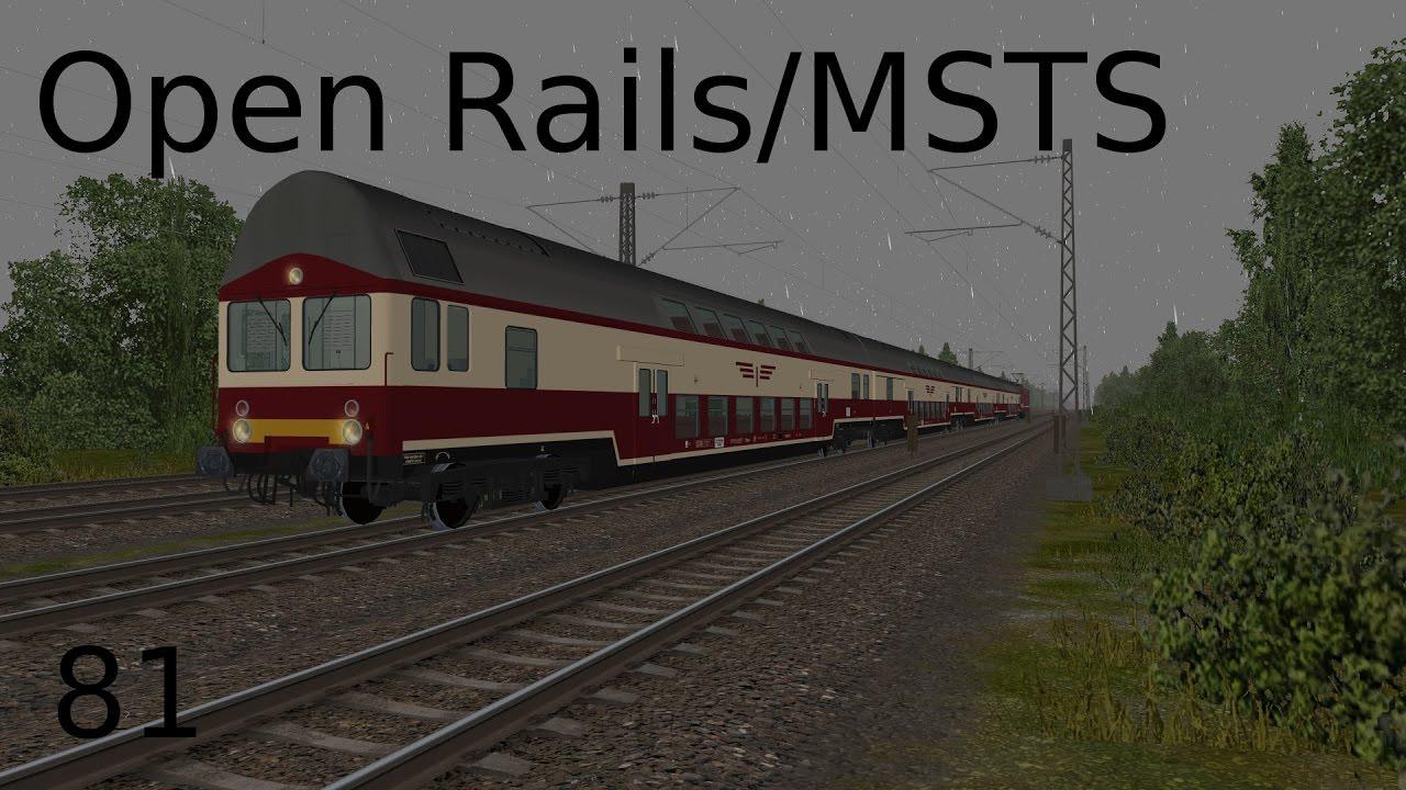 Open Rails/MSTS:[81]PT 5 - S 11733 Berlin Schöneweide-Wünsdorf