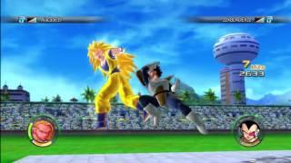 Dragonball Raging Blast 2 Team Battle Online Gameplay HD