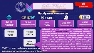 Короткая презентация о компании GRID GROUP продуктах и цифровых активах ДАМИР ИМАШЕВ 02 01 21