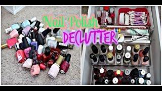 Nail Polish Declutter Thumbnail