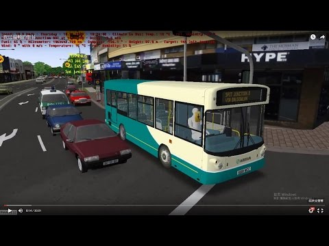 Omsi 2 tour (742) Sydney bus 144 Mosman Junction - Manly Wharf Gilbert Park @ ALX200 Wright 澳洲 悉尼