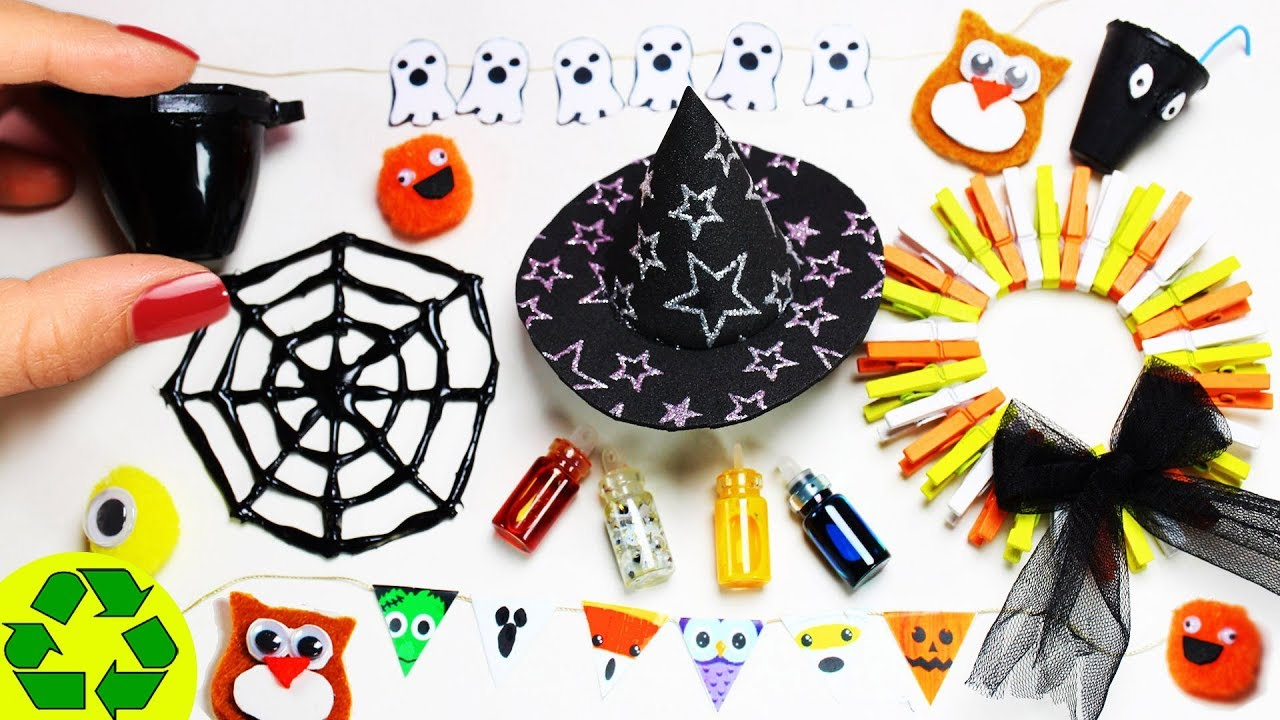 how to make halloween miniature decorations 2 10 easy diy miniature doll crafts