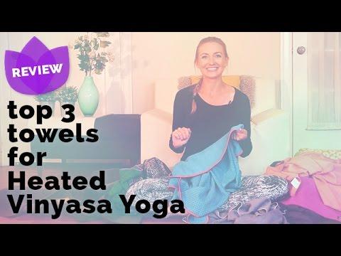 Best Yoga Towels for Heated Vinyasa Yoga (as opposed to Bikram) | Manduka Skidless YogiToes Towel