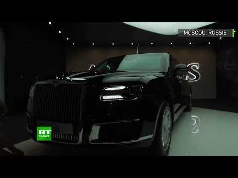 La toute nouvelle limousine de Vladimir Poutine comme si vous y étiez