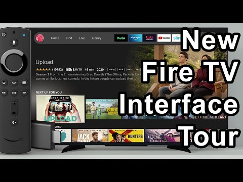 First tour of the new 2020 Amazon Fire TV Interface Redesign