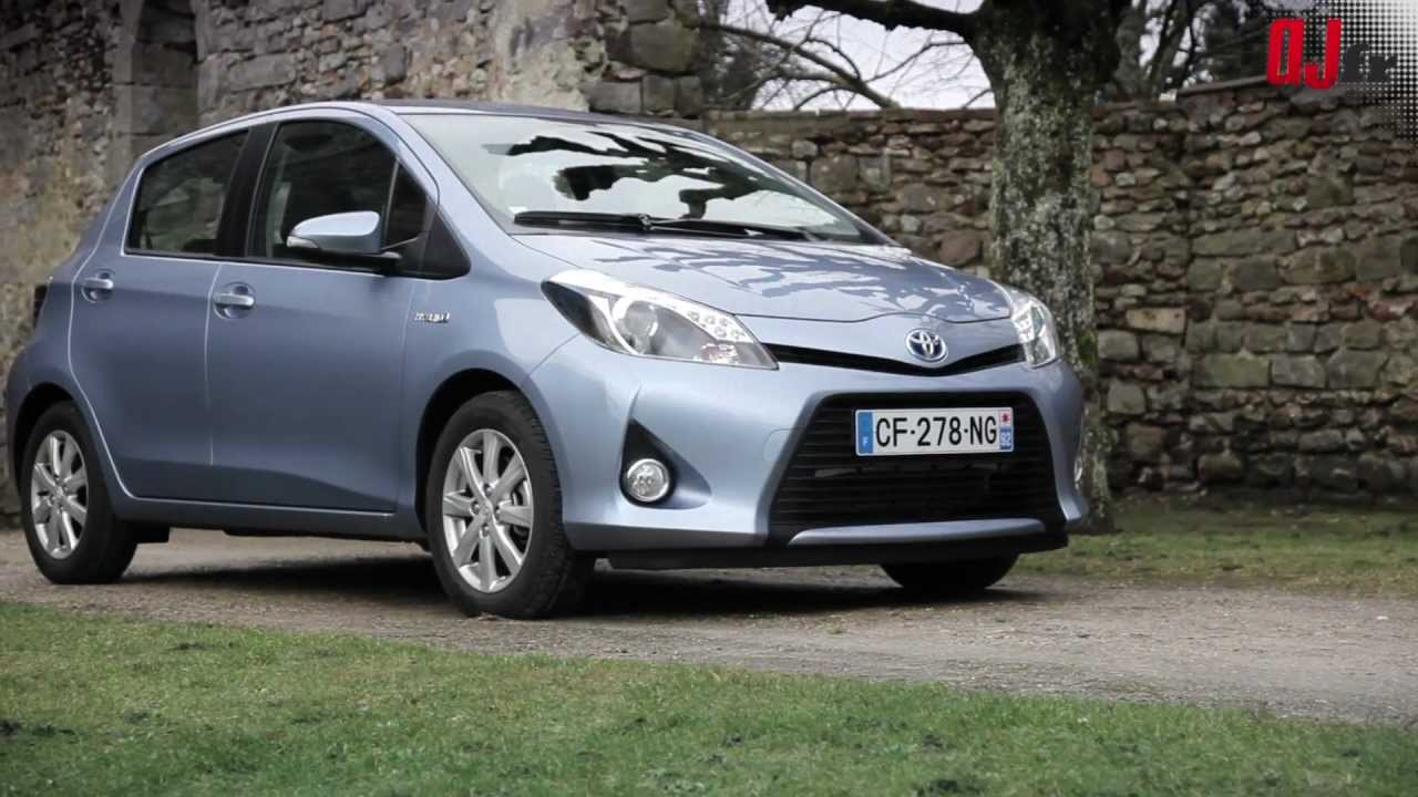 essai toyota yaris hybride 2013 youtube. Black Bedroom Furniture Sets. Home Design Ideas