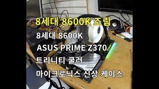 8600K + ASUS Prime Z370+ 마이크로닉스 ares z300+트리니티 white+1070 이정도면 (@^-^)