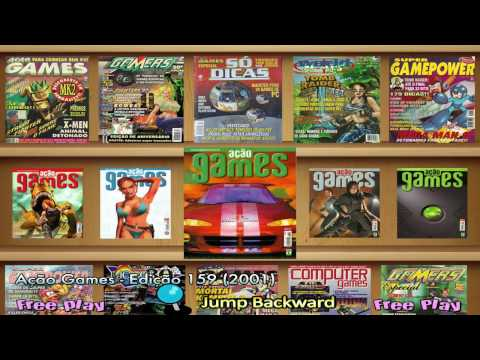 Brazilian Gaming Magazine's - Hyperspin Arcade - Retro Game's & Emulation