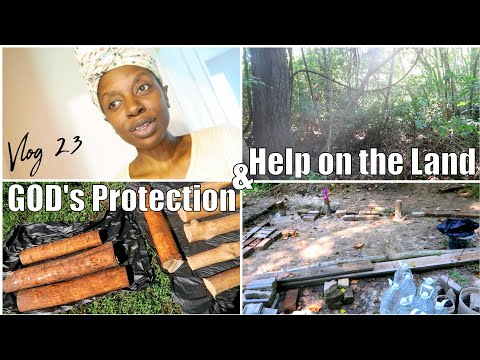 VLOG 23 IT ALL BEGINS IN THE SPIRIT, VICTORY IN JESUS, GODS PROTECTION & HELP ON THE LAND, CHRIS