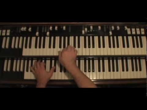 Hammond Organ - G Blues: apply chord tones and scales on blues in G.  by Joe Doria