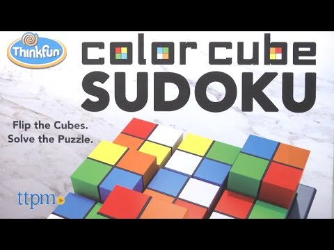 Color Cube Sudoku from ThinkFun