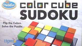 Color Cube Sudoku from ThinkFun