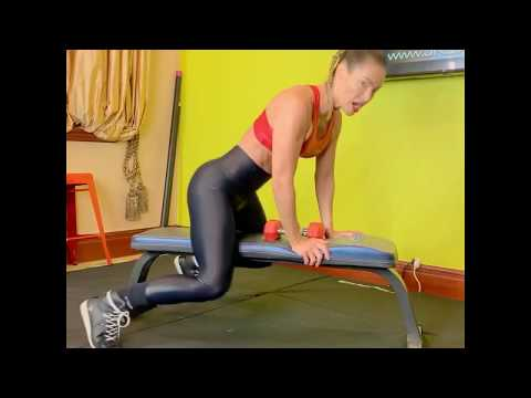 SUPER WOMAN MOVE by Master trainer Jennifer Nicole Lee! Super Womans for Back, Rear-Delts & Booty!
