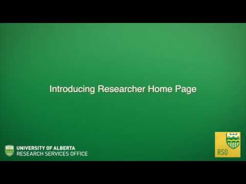 Researcher Home Page | Research Services Office