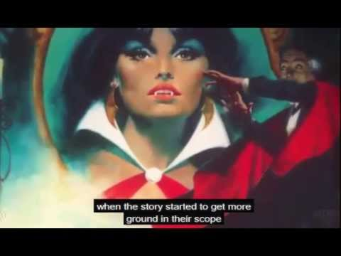 video SEAN FERNAND talking about VAMPIRELLA