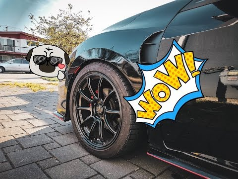 TYPE R Fenders Installed On Civic Hatchback FK7 | TYPE R 葉子板裝在五門思域