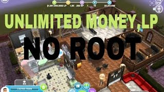 CARA MENDOWNLOAD THE Sims FREEPLAY MOD UNLIMITED MONEY,LP NO ROOT (ANDROID)