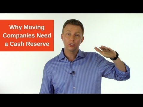 Why Moving Companies Need a Cash Reserve