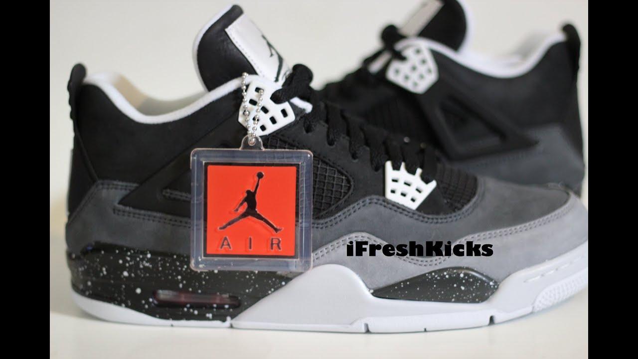 64796b411b72 ... Nike Air Jordan Retro 4 Fear Pack Review ...