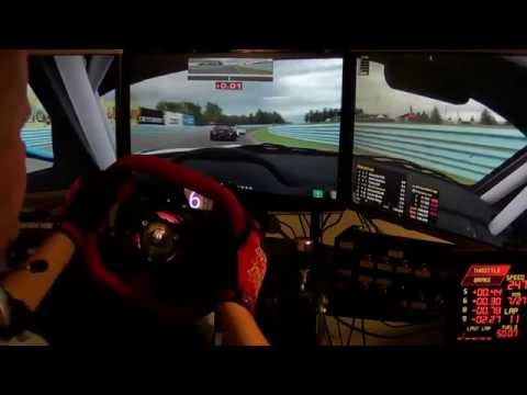 iRacing: GT3 Challenge BMW Z4 at Watkins Glen #1 - Best. Race. Ever.
