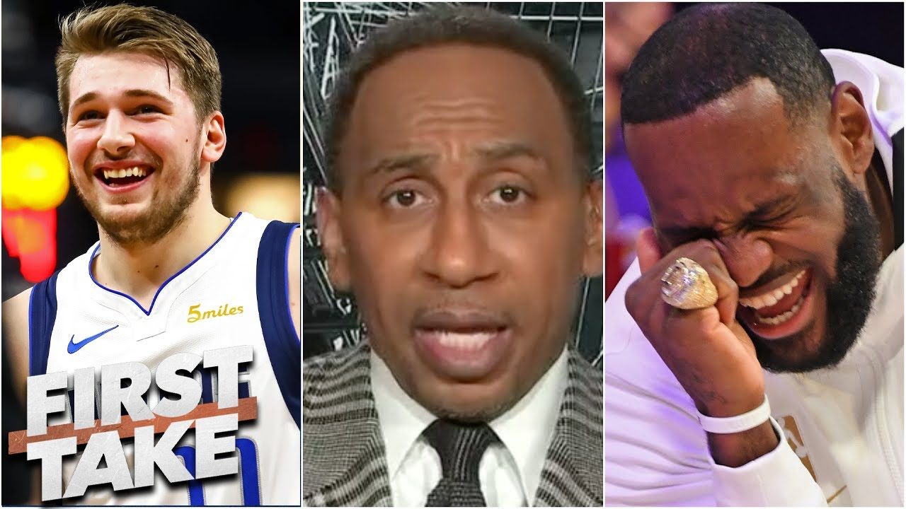 Stephen A. reacts Lakers vs Mavericks: LeBron has an appreciation for Luka play and Christmas game