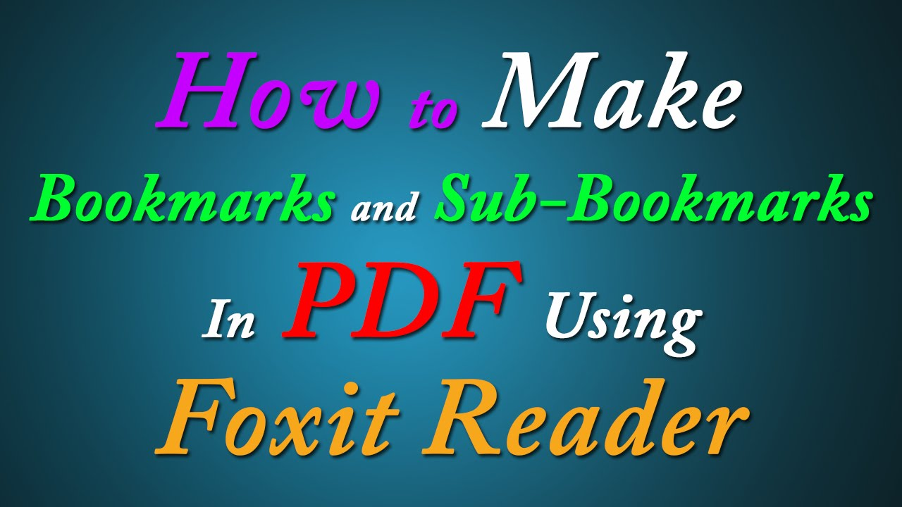 reddit pdf reader with bookmark