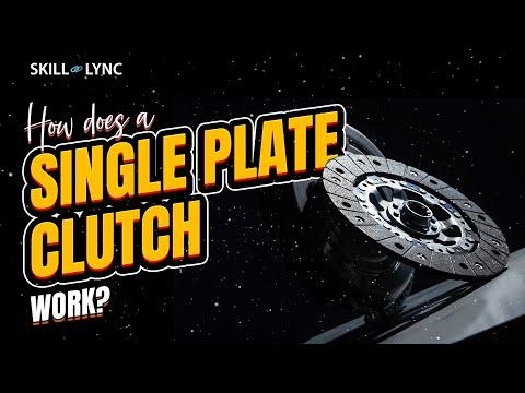 how-does-a-single-plate-clutch-work?-|-skill-lync