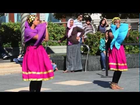 Arab Cultural Festival 2012: Sudanese Wedding Dance @ Union Square (Clip 2)