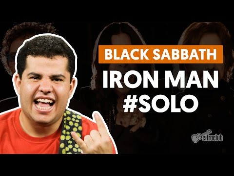Iron Man - Black Sabbath (How to Play - Guitar Solo Lesson)