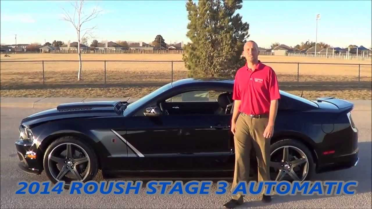 2014 Roush Stage 3 Black Automatic @ Rogers Ford in Midland Texas 1(800)583-8801 - YouTube & 2014 Roush Stage 3 Black Automatic @ Rogers Ford in Midland Texas ... markmcfarlin.com