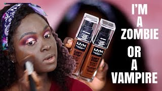 I TURNED INTO A ZOMBIE, NYX X ALISSA ASHLEY DID ME WRONG | CAN'T STOP WON'T STOP FOUNDATION