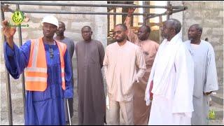 Youssouph BONGO fils de l'ancien Président Gabonais Omar BONGO en visite à Touba