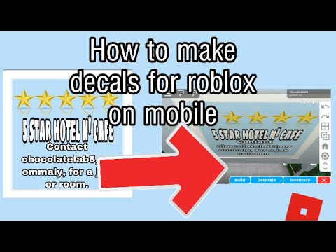 How To Make Decals On Roblox Mobile